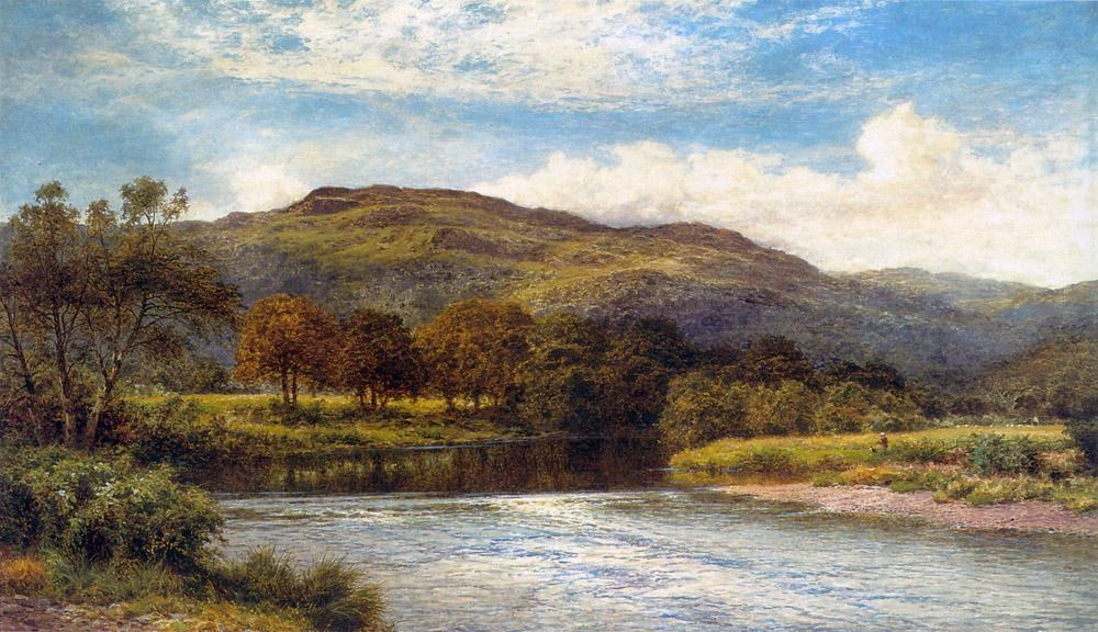 Benjamin Williams Leader The Conway Near Bettws y Coed