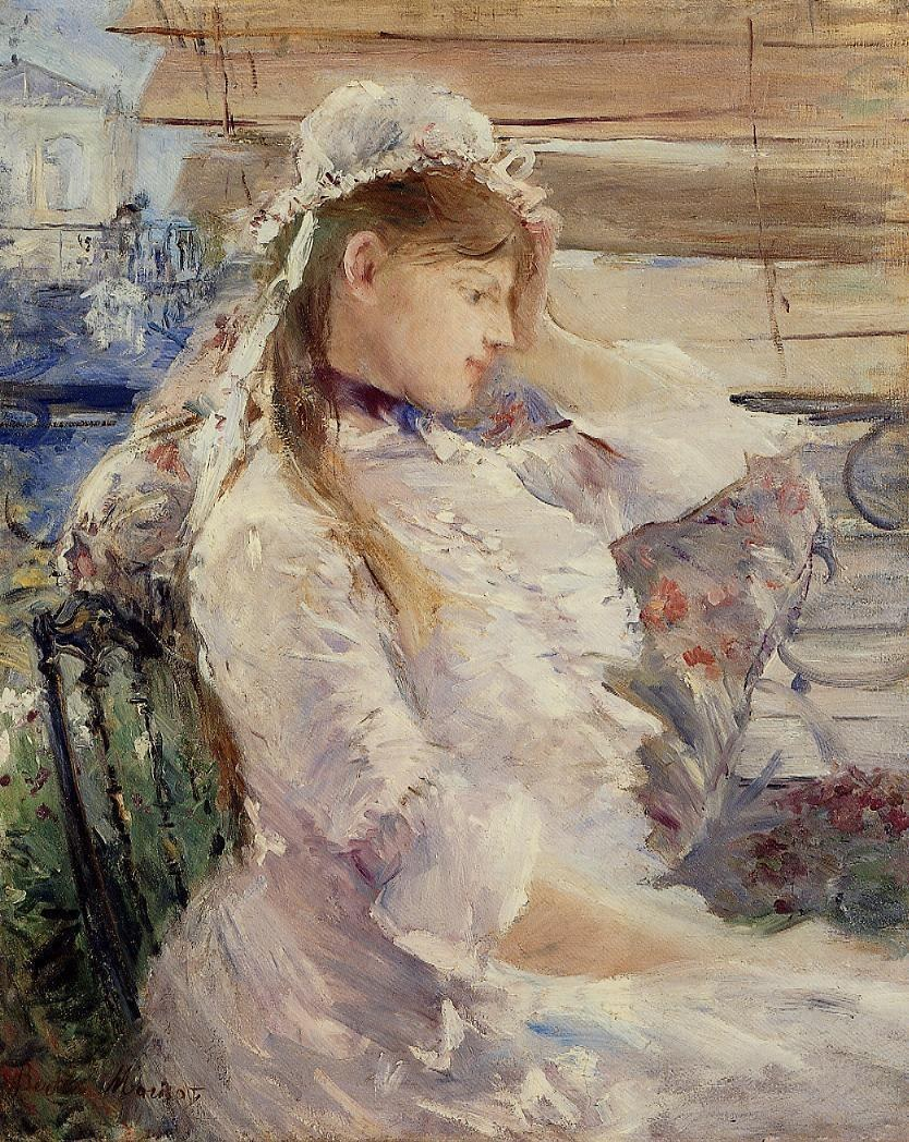 Berthe Morisot Behind the Blinds