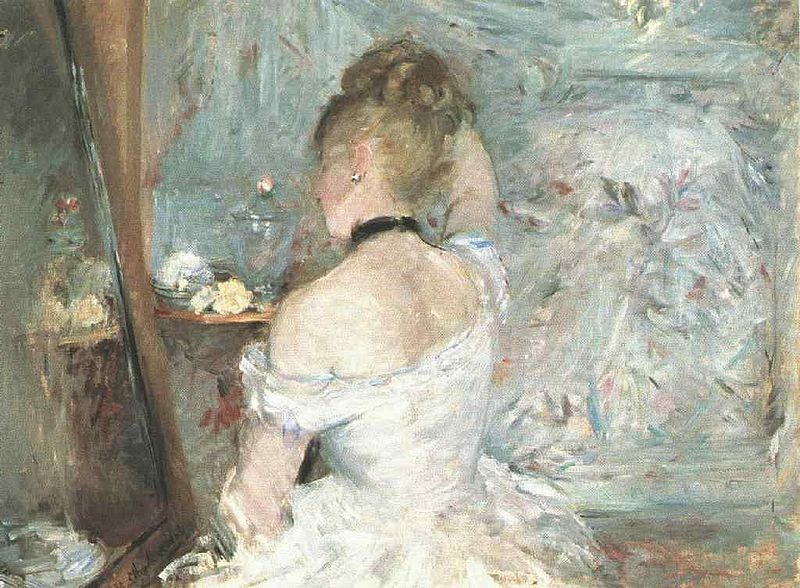 Berthe Morisot Lady at her Toilette