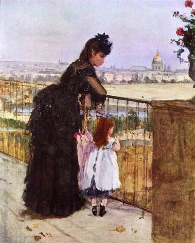 Berthe Morisot On the Balcony