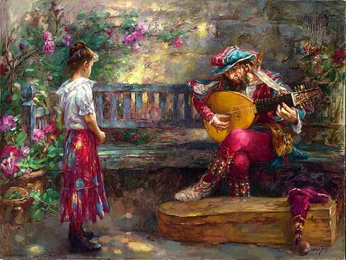 Cao Yong GIRL WITH MUSICIAN