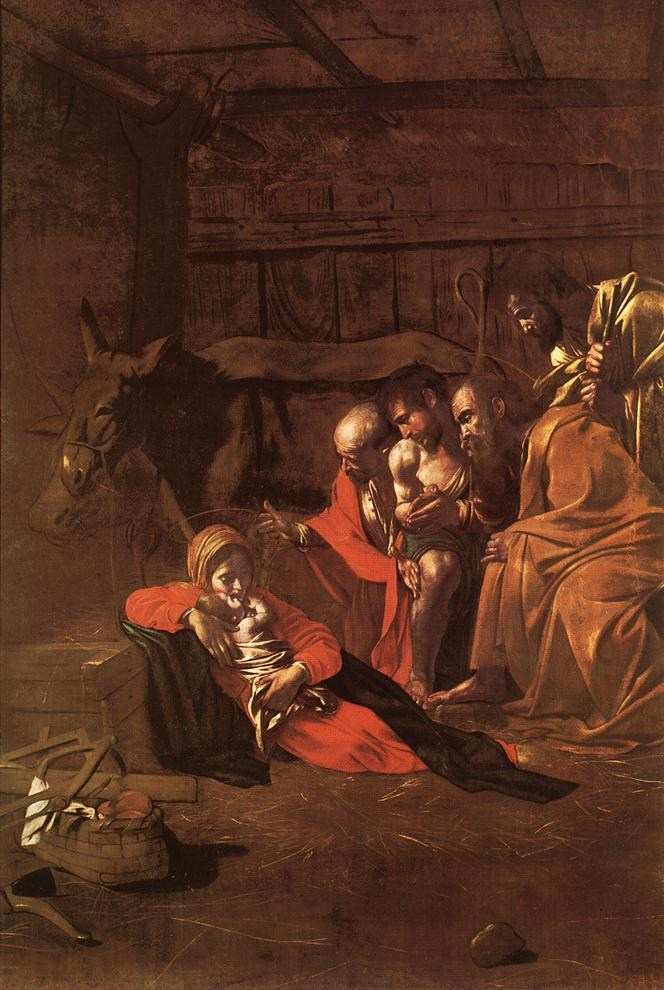 Caravaggio Adoration of the Shepherds