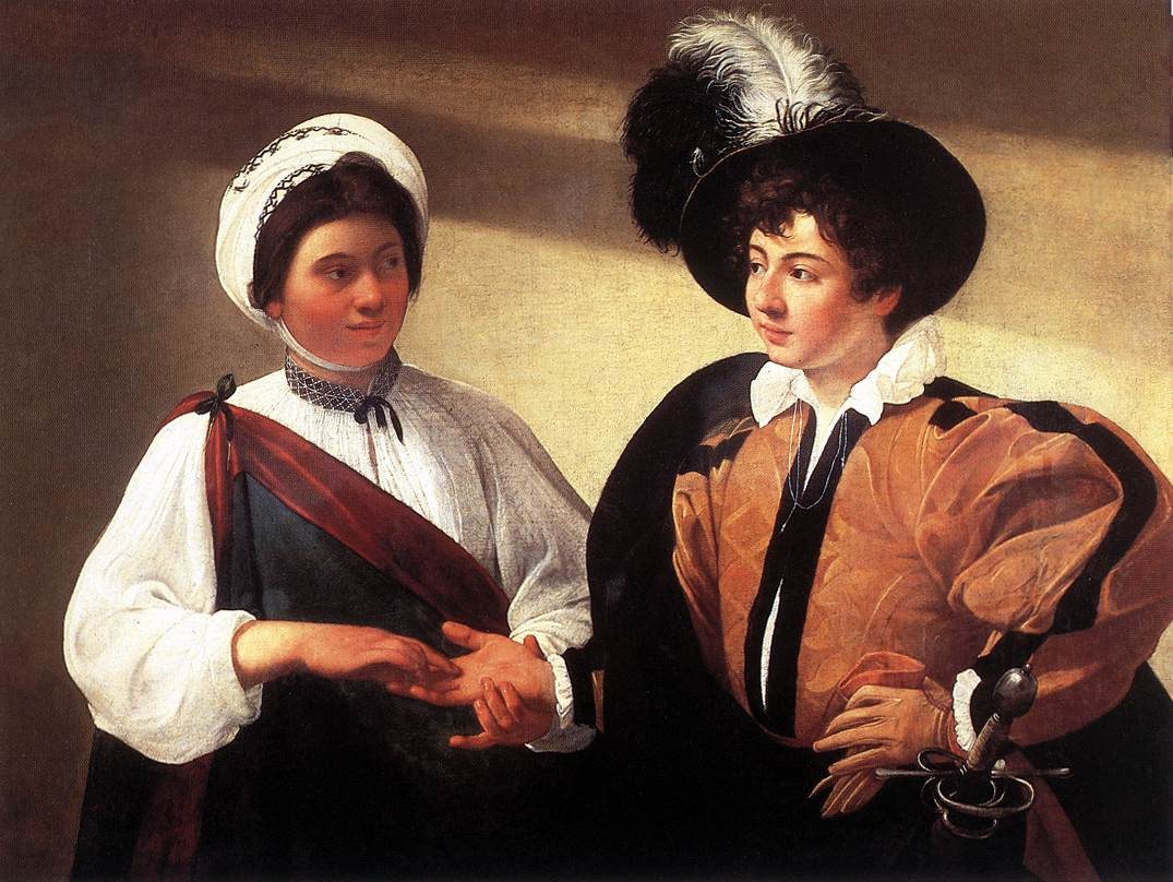 Caravaggio The Fortune Teller