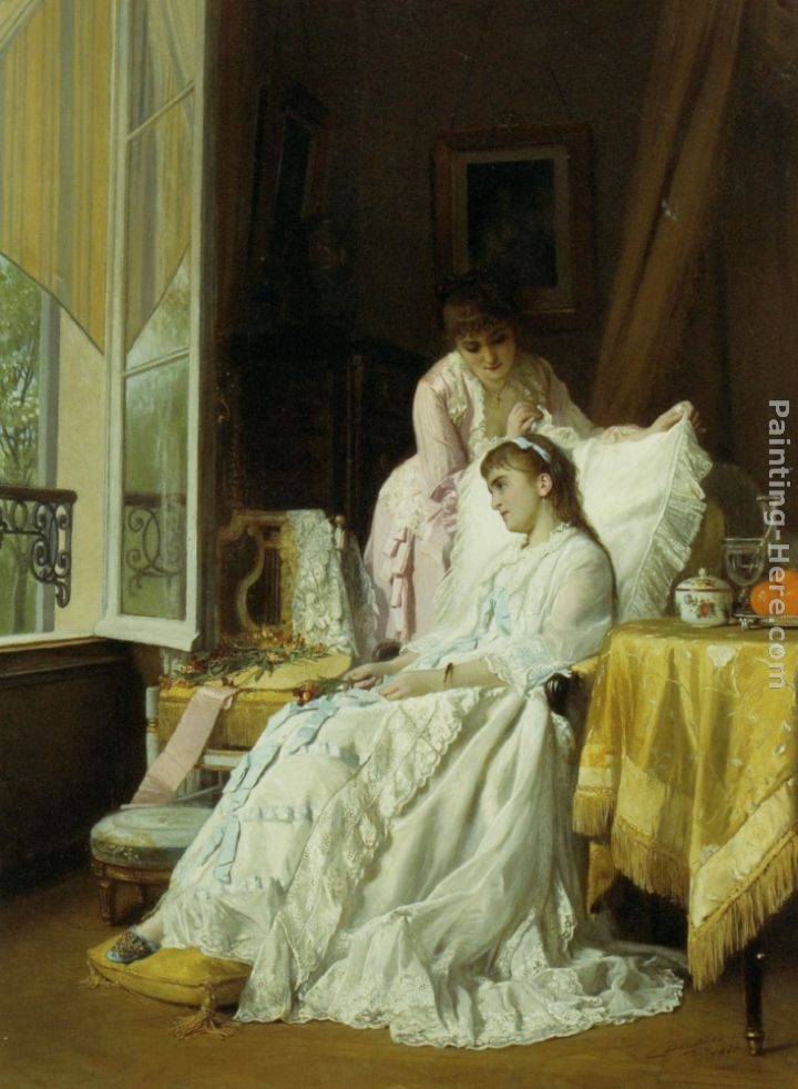 Charles Baugniet The Convalescent