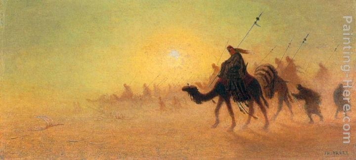 Charles Theodore Frere Crossing the Desert