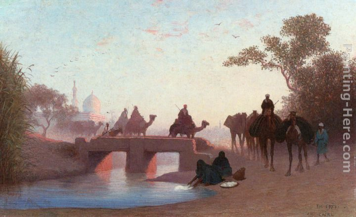 Charles Theodore Frere Environs du Caire