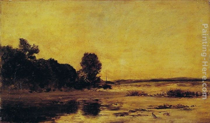 Charles-Francois Daubigny By the Sea