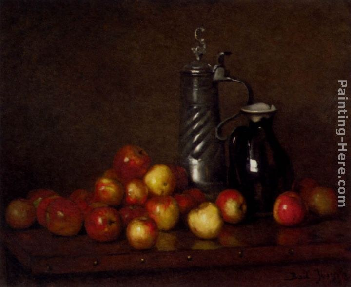 Claude Joseph Bail Apples with a Tankard and Jug