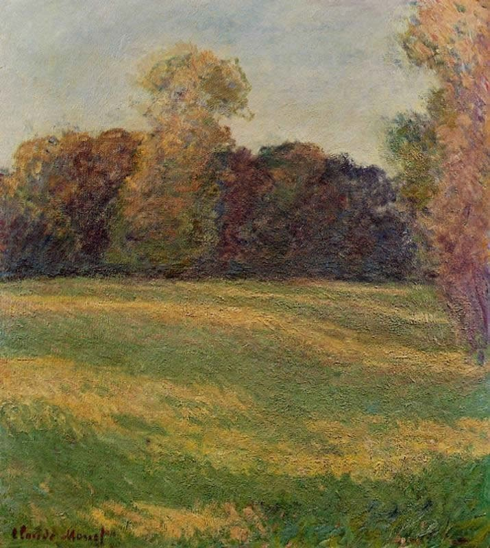 Claude Monet Meadow in the Sun
