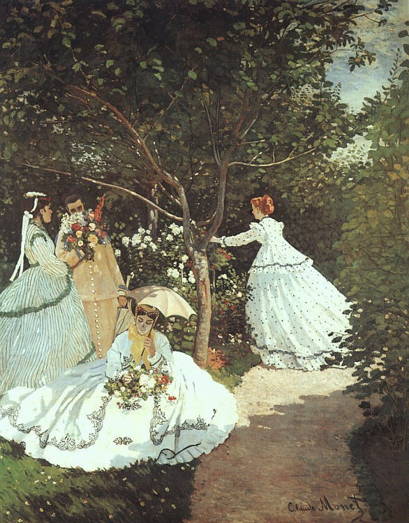 Claude Monet The women in the Garden