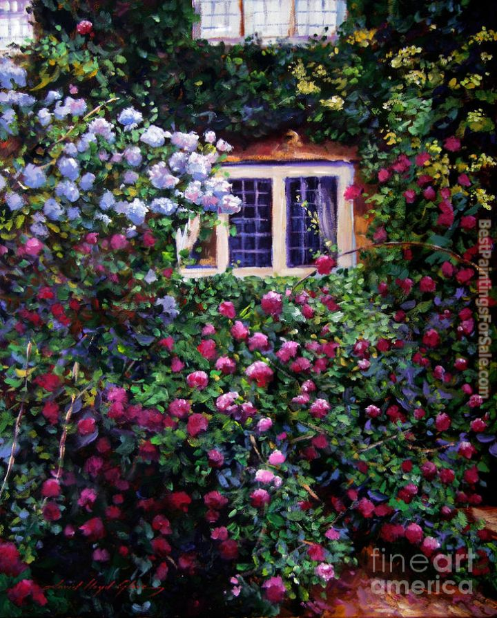David Lloyd Glover English Manor House Roses