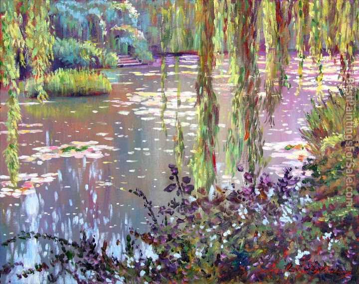 David Lloyd Glover homage to monet