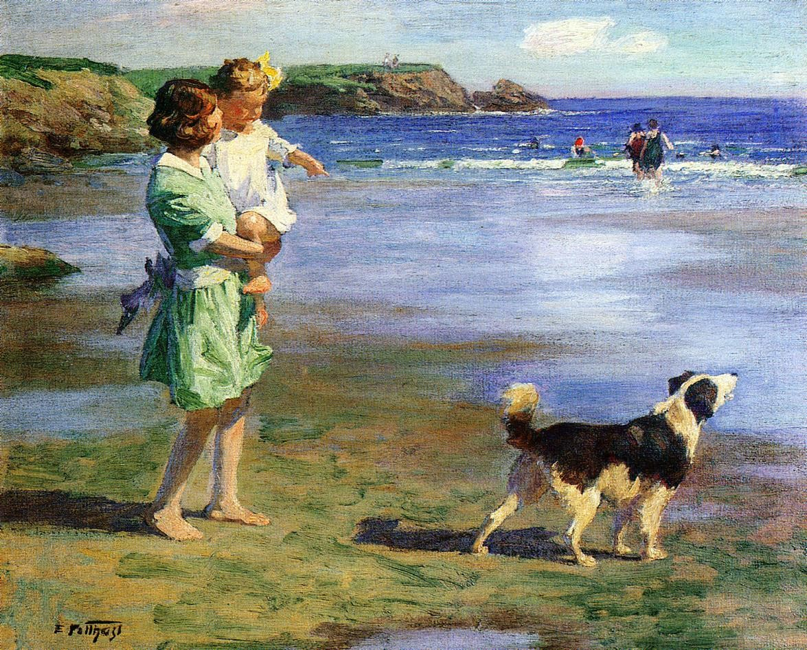 Edward Henry Potthast Summer Pleasures