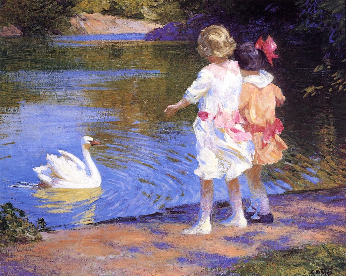 Edward Henry Potthast The Swan