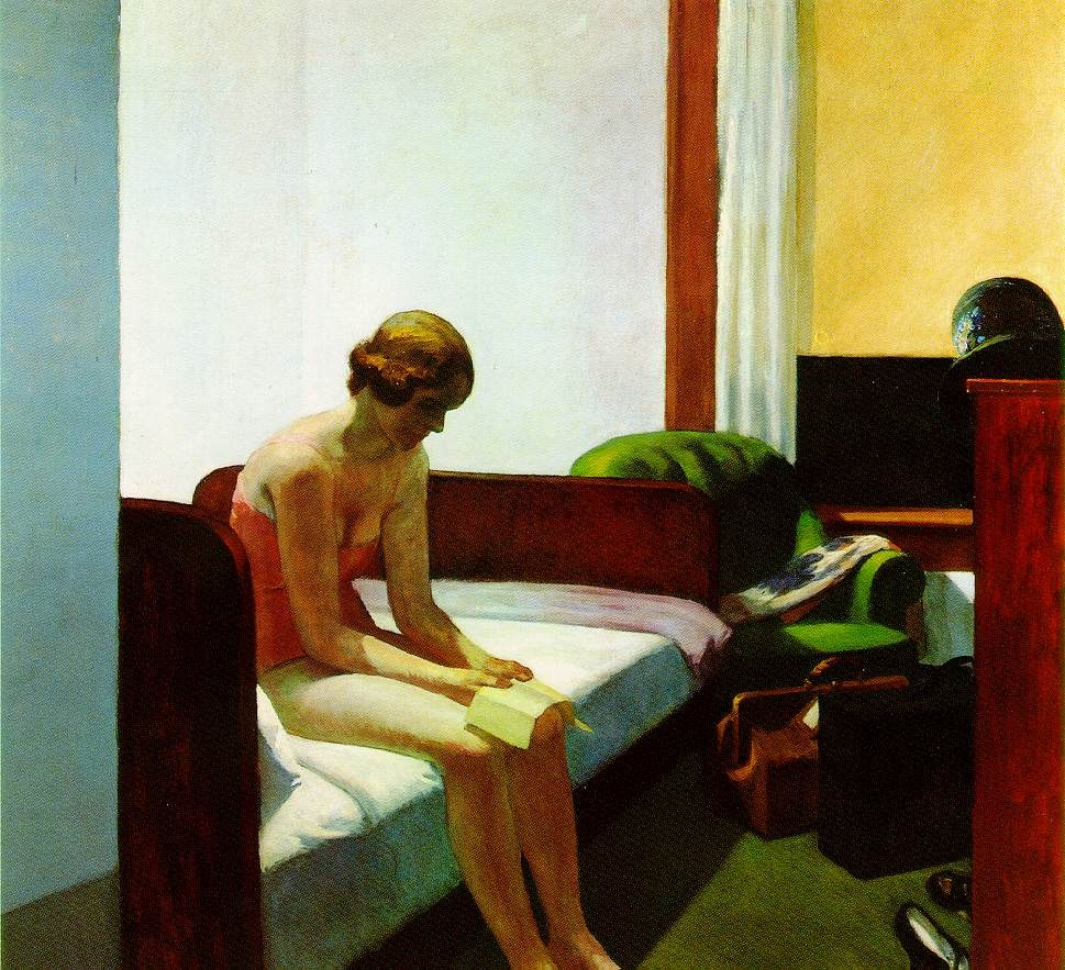 Edward Hopper Hotel Room