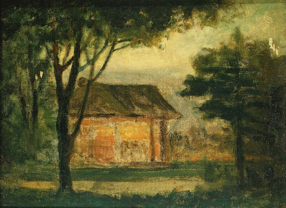 Edward Mitchell Bannister The Old Homestead