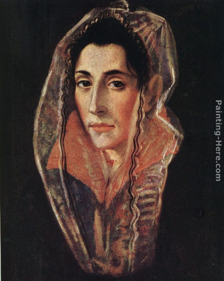 El Greco Female Portrait