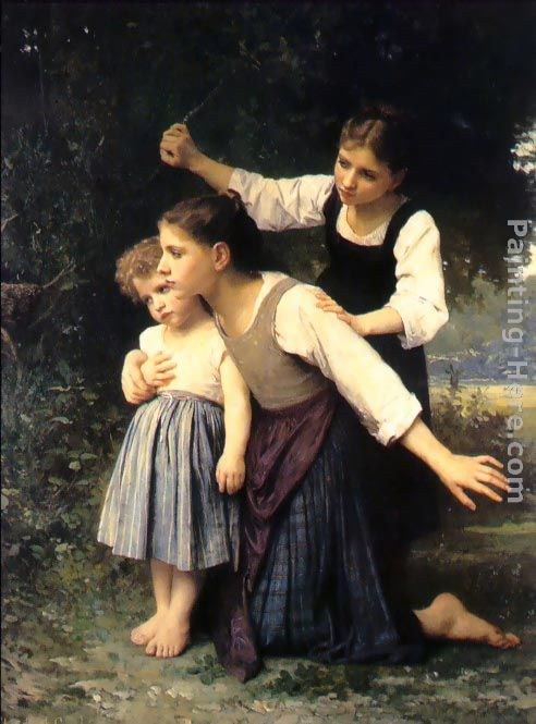 Elizabeth Jane Gardner Bouguereau In the Woods