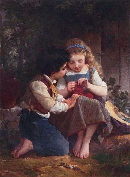 Emile Munier A Special Moment