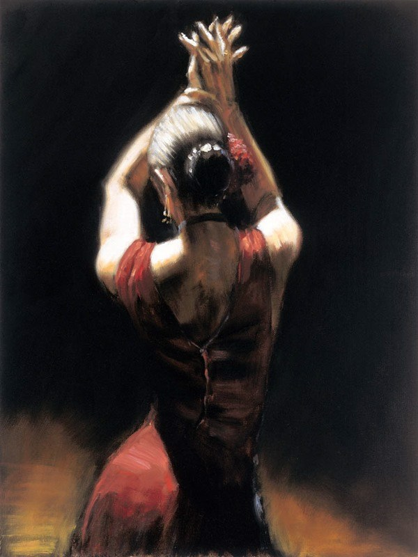 Fabian Perez Flamenco Dancer