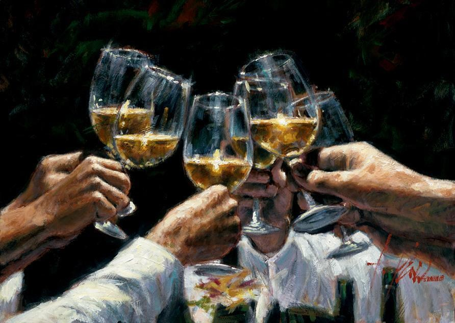 Fabian Perez For a Better Life II White Wine