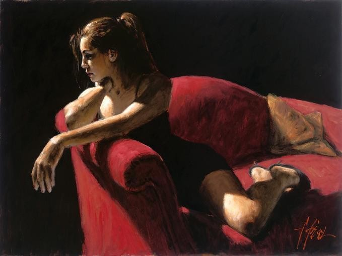 Fabian Perez Rojo Sillion III Second State