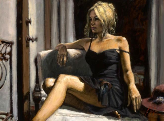 Fabian Perez THE RED HAT