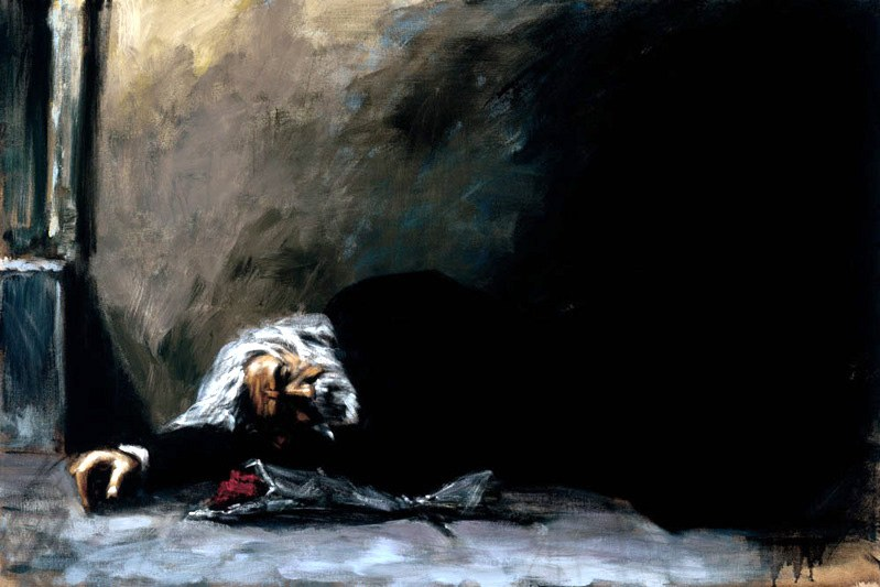 Fabian Perez Waiting For the Romance to Come Back II
