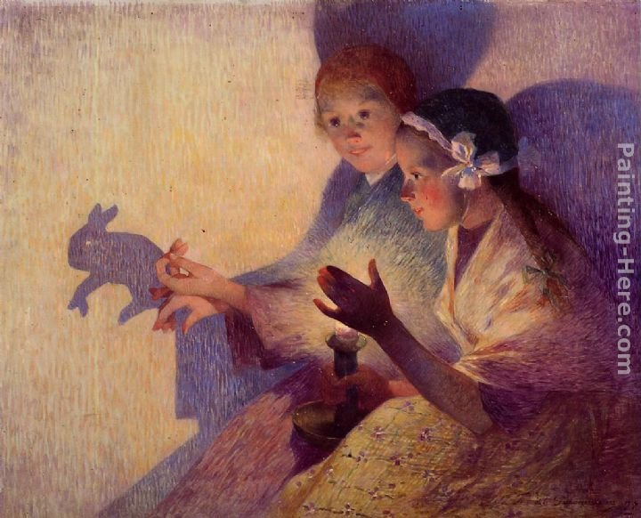 Ferdinand Loyen Du Puigaudeau Chinese Shadows, the Rabbit