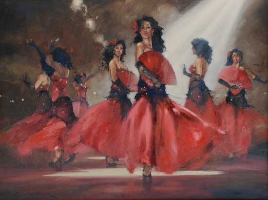 Flamenco Dancer Sieta Hermanas