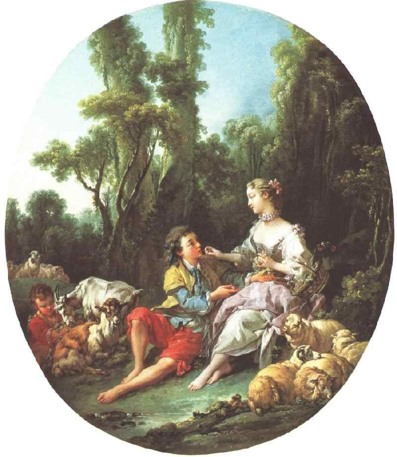 Francois Boucher Are They Thinking About the Grap