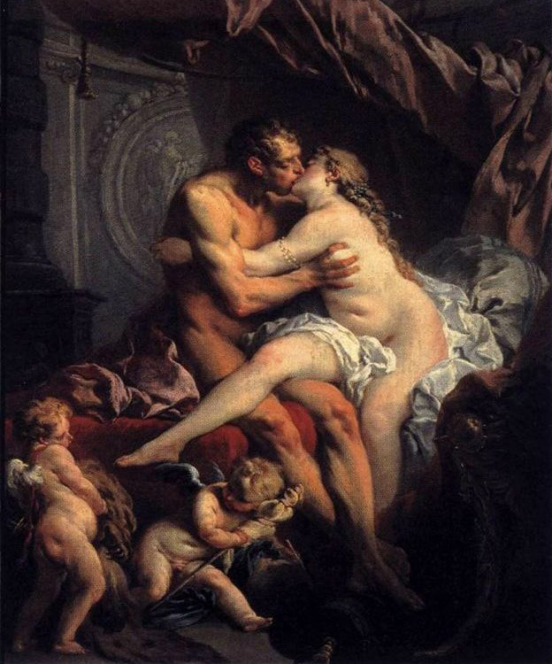 Francois Boucher Hercules and Omphale