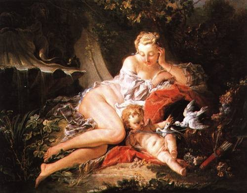 Francois Boucher Venus and Cupid