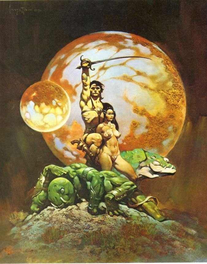 Frank Frazetta A Princess of Mars