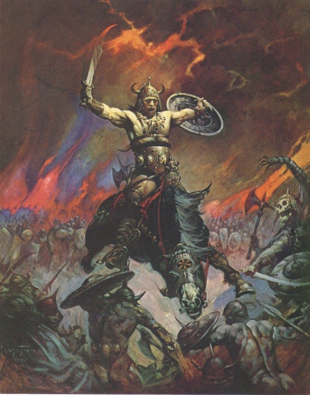 Frank Frazetta Conan the Conqueror