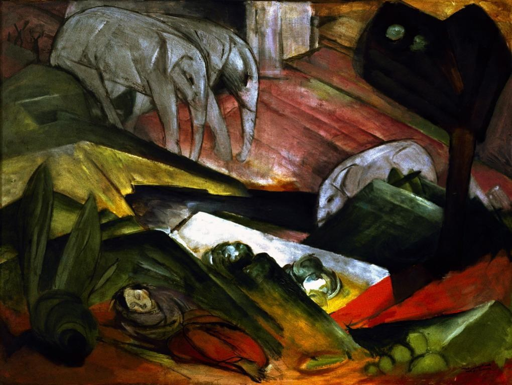 Franz Marc Der Traum Painting Best Der Traum Paintings
