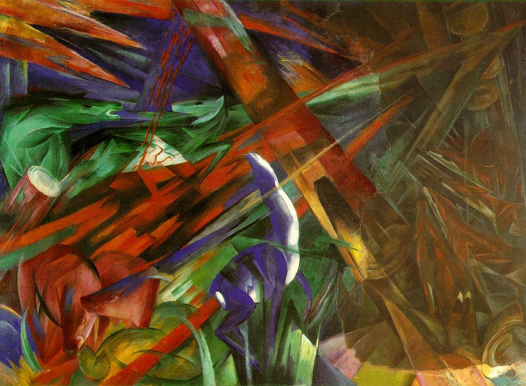 Franz Marc Fate of the Animals