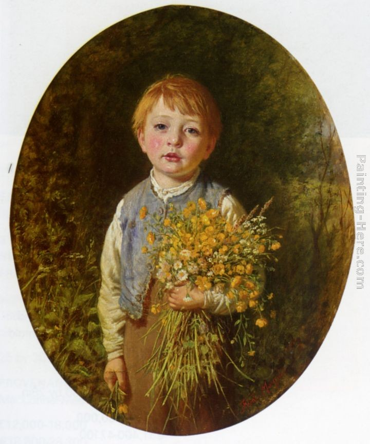 Frederick Morgan The Flower Gatherer