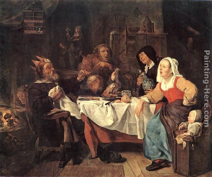 Gabriel Metsu The Lord of Misrule