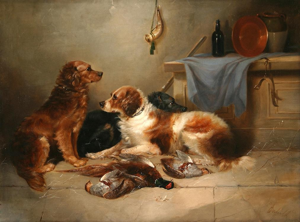 George Armfield After the Hunt