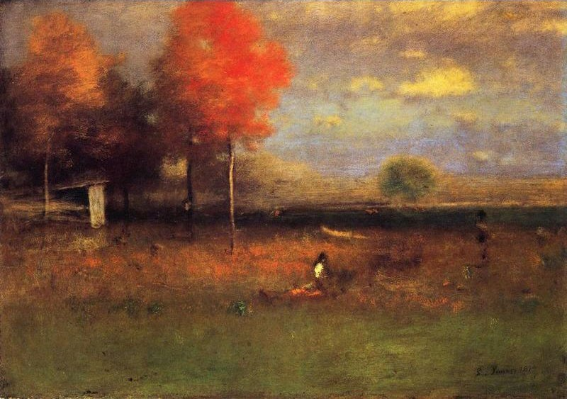 George inness indian summer painting best indian summer for Famous prints for sale