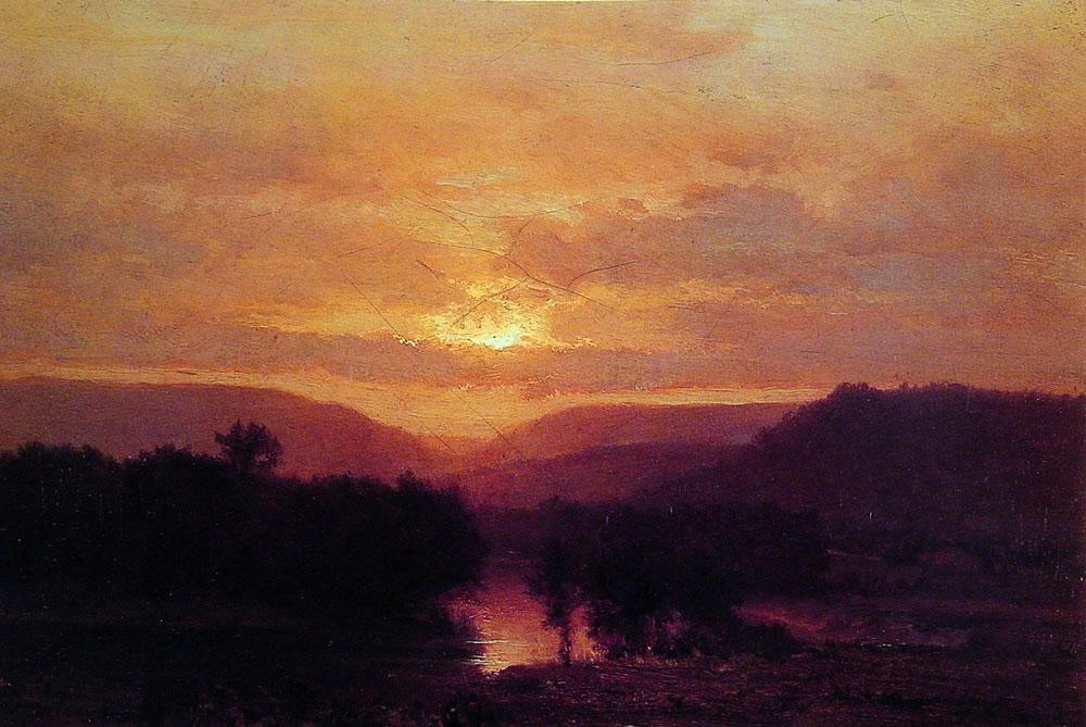 George Inness Sunset