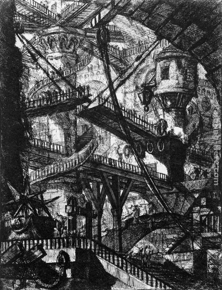 Giovanni Battista Piranesi The Prisons (plate VII)