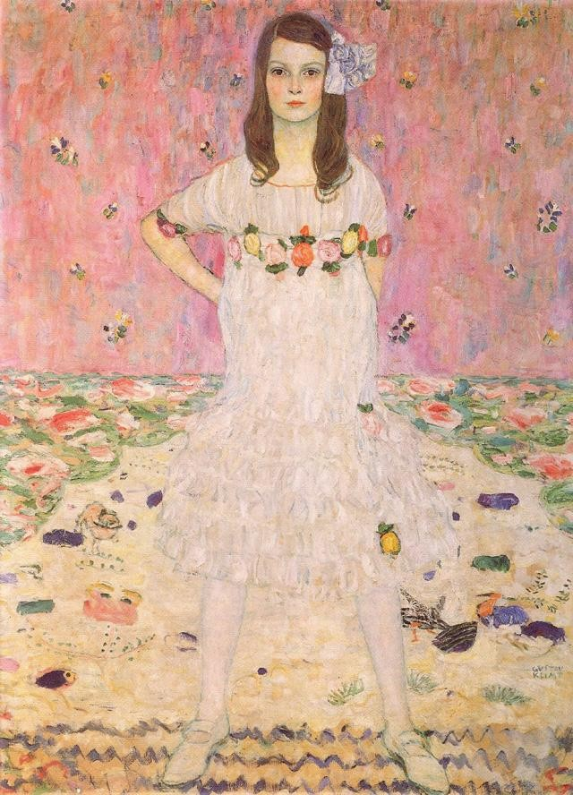Gustav klimt maeda primavesi painting best maeda for Gustav klimt original paintings for sale