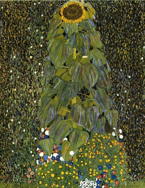 Gustav Klimt The Sunflower