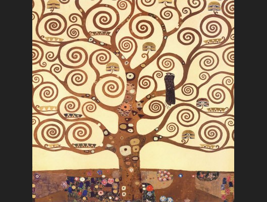 Gustav Klimt The Tree of Life Stoclet Frieze