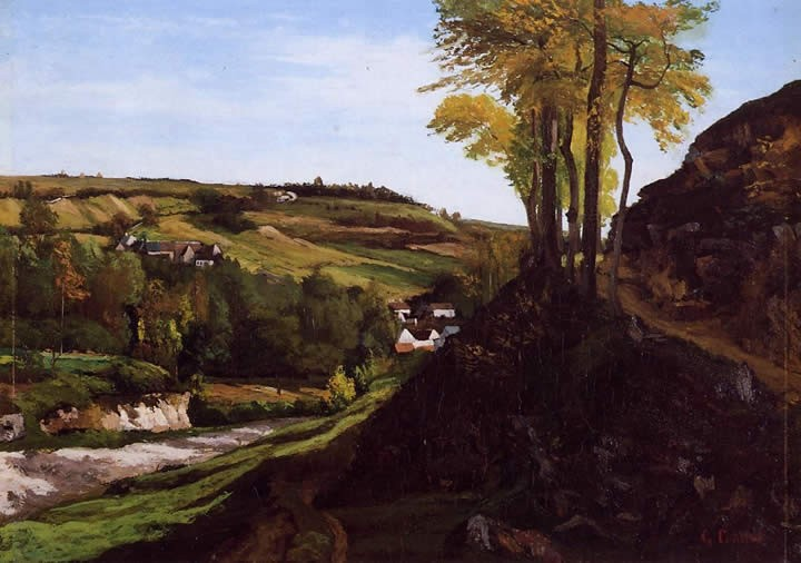 Gustave Courbet Valley of Ornans