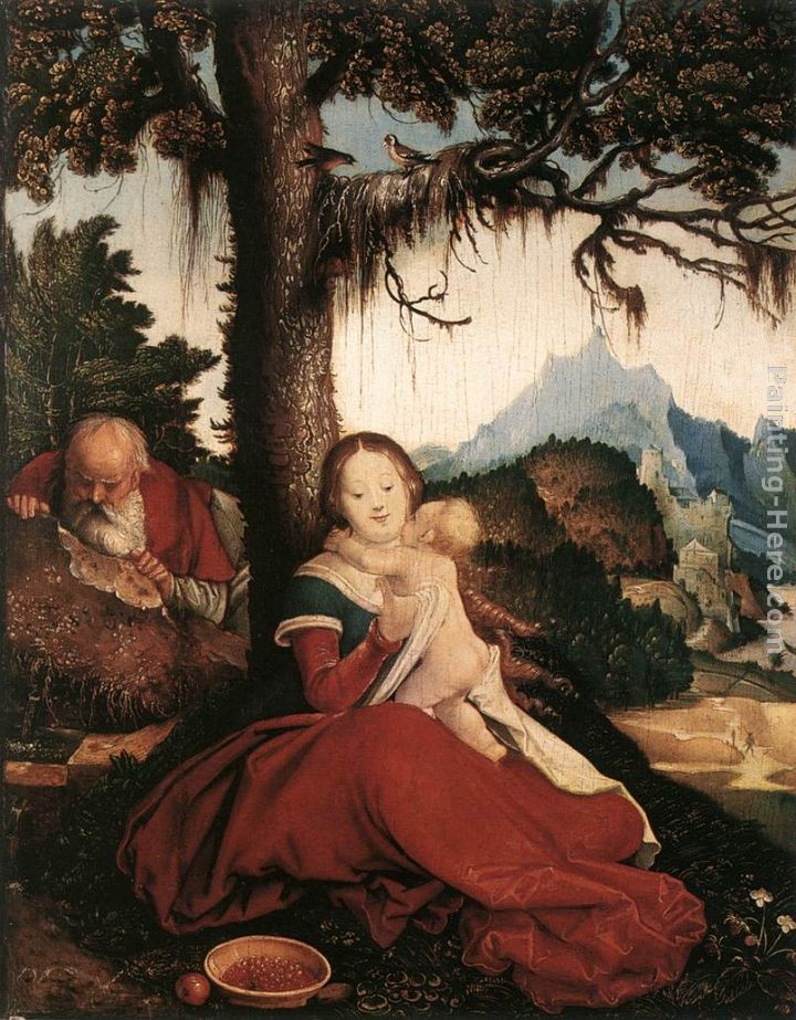 Hans Baldung Rest on the Flight to Egypt