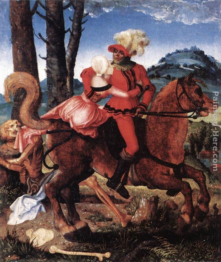 Hans Baldung The Knight, the Young Girl, and Death