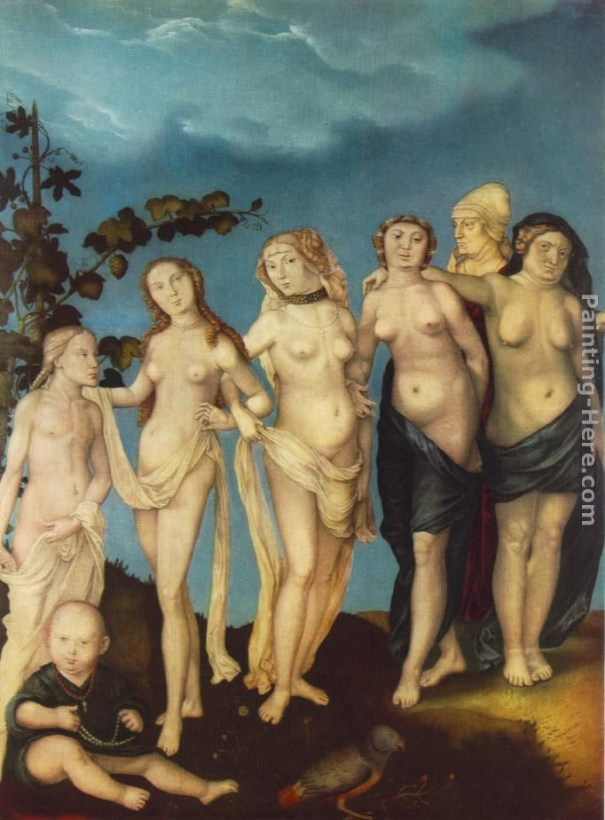 Hans Baldung The Seven Ages of Woman